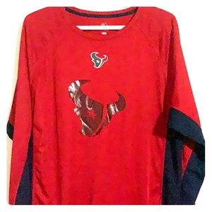 Houston Texans Majestic Coolbase athletic shirt